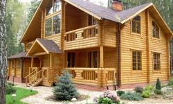 1 Недорогие деревянные дома и бани из бревна большого диаметра.