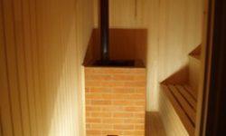 Печь в бане в Барыбино