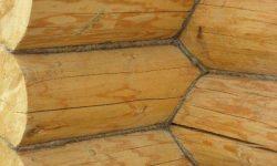 конопатка стен сруба