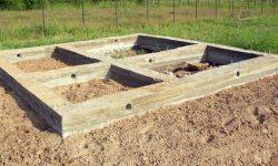 ленточный фундамент для бани 1