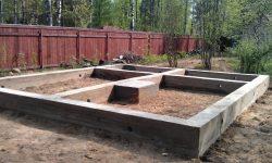ленточный фундамент под деревянный дом 5