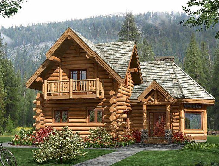 Дизайн рубленных домов с