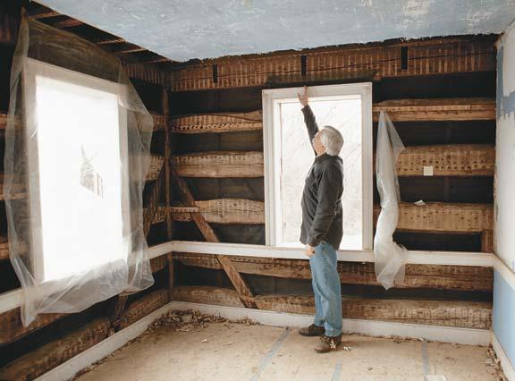 Ремонт сруба деревянного дома  видео 170