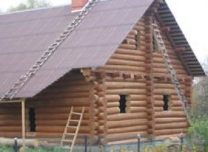 Объкт по строительству дома в деревне Кузьминское, близ п Барыбино