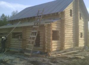 Объкт по строительству дома 9х11 близ г Серпухова