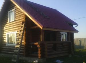 Рубленный деревянный  дом 7х9 метров г. Сергиев Посад.