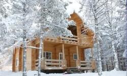2Преимущество зимней древесины для русского сруба