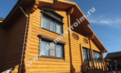 Недорогие дома из сруба и бруса