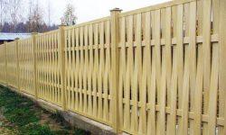 Забор досчатый
