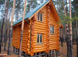 Строительство сруба дома 8х8 г. Грязовец Вологодская область