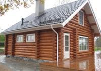 Сруб дома, построенный в районе г Белозерска Вологодской области